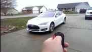 Автоматично паркиране на автомобил в гараж