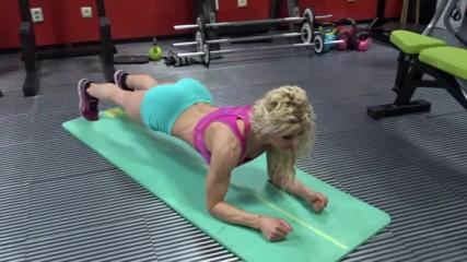 Планк - изометрично упражнение за корем