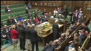 Group of Protesters Try to Enter PMQs