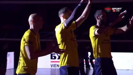 Впечатляващо представяне на волейболистите на Хебър
