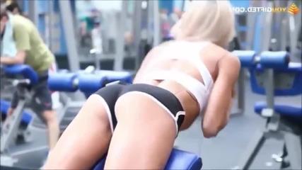 Горещи и секси фитнес модели в здрава тренировка - Фитнес тренировка и мотивация 2015