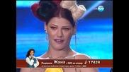 Жана Бергендорф X Factor (17.10.13)