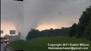 Торнадо в Оклахома 24.5.2011
