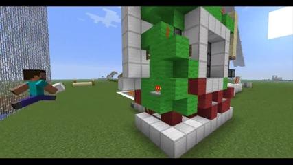 Minecraft - Invisible Door