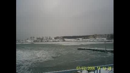 Ахтопол През Зимата