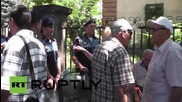 Armenia: Police block roads to presidential palace as utility protests continue in Yerevan