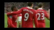 Манчестър Юнайтед - Нюкасъл 3 - 0 Гол на Димитър Бербатов