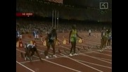 Злато , сребро и бронз за Ямайка от женския спринт на 100 м. в Пекин