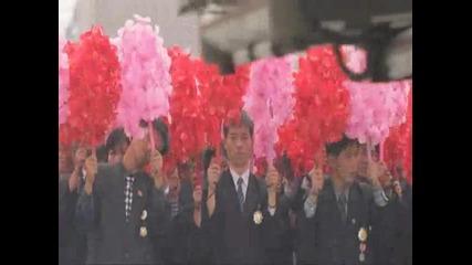 Северна Корея - военен парад (hd)