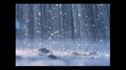 The sound of rain wo music