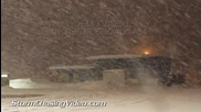 Снежна буря в Уисконсин 20.2.2014