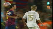 Messi Provocando Real Madrid Supercopa 2011