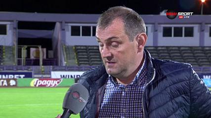 Загорчич: Късметът бе за Етър, дано догодина имаме роля в българския футбол