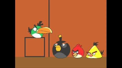 Angry Birds animated parody