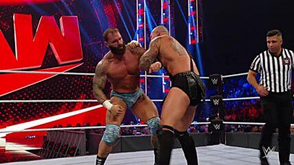 Jaxson Ryker vs. Karrion Kross: Raw, Sept. 27, 2021