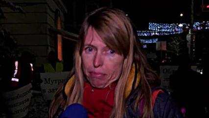 Протест пресъздаде ареста на Десислава Иванчева