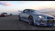Nissan Skyline R34 Gtr Fast & Furious