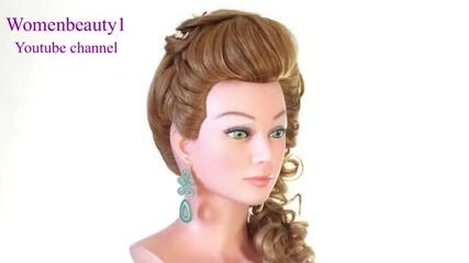 Сватбена или официална прическа за пусната коса