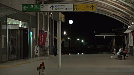 Japan: Iwaki station deserted as northeast braces for tropical storm to make landfall