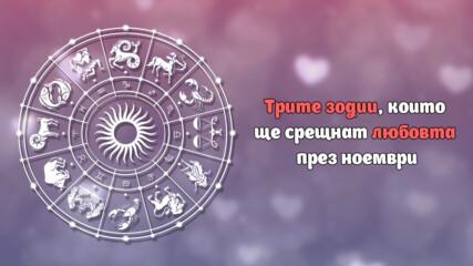 Трите зодии, които ще срещнат любовта през ноември