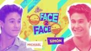 Soy Luna 3 - Лице в лице - Майкъл и Симон + Превод