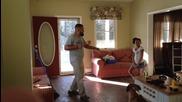 Танц битка между баща и дъщеря