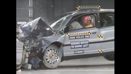 Volvo S80 Crash test