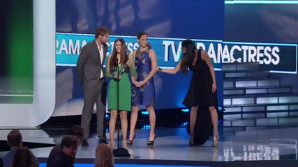 Бг Превод The People's Choice for Favorite Tv Drama Actress is Nina Dobrev