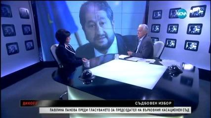 Павлина Панова гостува на Сашо Диков (25.01.2015)