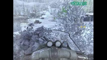Modern Warfare 2 - Спускане 3 звезди