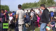 Сърбия: Бежанци се опитват да пресекат блокираната граница към Унгария