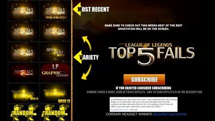 League of Legends Top 5 Fails Week 32