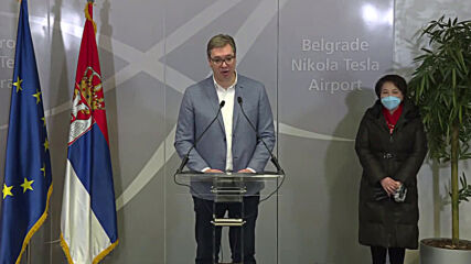 Serbia: Pres Vucic welcomes million doses of China's Sinopharm COVID vaccine at Belgrade airport