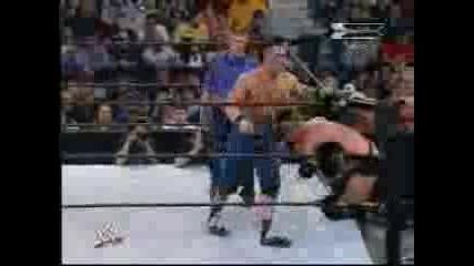 Brock Lesnar (c) vs. John Cena (wwe Championship Match) - Wwe Backlash 2003