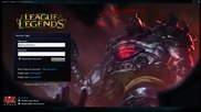 New Sion Rework Login Screen - Music and Animation - Pbe Server - 4.18 Patch - Sep-29-2014