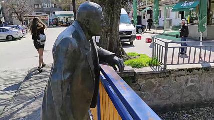 Паметник на Димитър Казаков – Нерон в Пазарджик