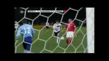 Германия - Англия 1 - 2 Хелмес Гол