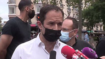 France: Thousands protest against far-right and racism in Paris
