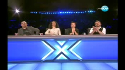 Богомил Отново Вдигна Летвата X Factor - 08.11.11