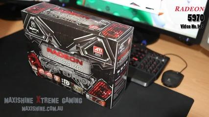 Xfx Hd 5970 Black Edition Ati Radeon Maxishine Video (hd)