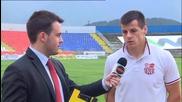 ВИДЕО: Младият Владислав Узунов говори за бъдещето си след мача на Хасково с Марек