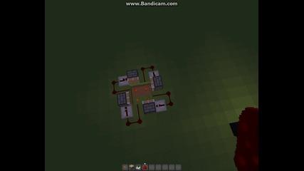 Minecraft как се прави отварящ и затварящ портал