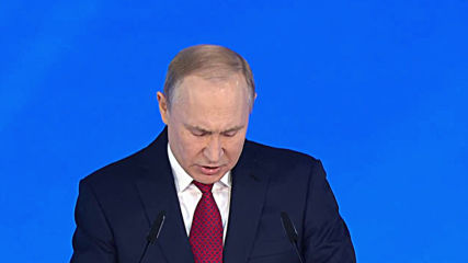 Russia: Putin begins annual address to Federal Assembly