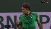 Експресна победа за Федерер в Индиън Уелс