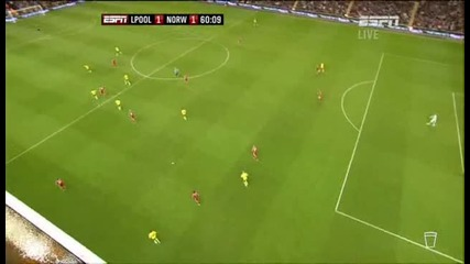2011-10-222 Liverpool vs Norwich 1-1 Holt (60) Epl