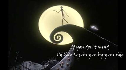 Nightmare Before Christmas - Jack & Sally's Song - Lyrics Video