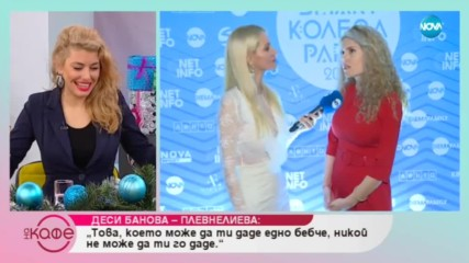 Деси Банова - Плевнелиева - Защо двете ѝ деца носят името на Св. Йоан - На кафе (19.12.2018)