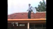 kyuckek varhu pokriva Кючек върху покрива