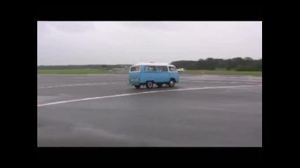 Top Gear Lap in the 68 Vw Camper