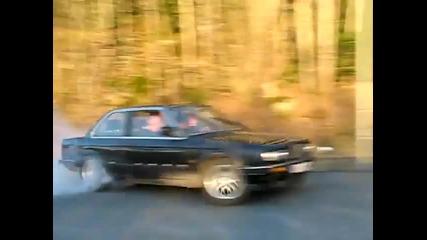 Луд drift с Bmw E 30